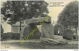 44.  SAINT NAZAIRE .  Le Dolmen Pris à L'Est . - Saint Nazaire