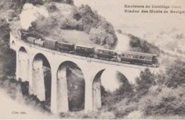 Reproduction Conliege Revigny 39 Jura  Gare - Andere Gemeenten
