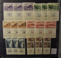 Israel - PA 1955 - N°10 A 15  - Tous **  - MNH - Cote : 29 Euros - Airmail