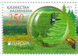 KZ 2011 EUROPA CEPT, KAZAKISTAN, 1 X 1v, MNH - 2011