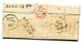 SOMME DEBOURSE D AMIENS Du 25/10/1828 Sur LAC De COLMAR - 1801-1848: Précurseurs XIX