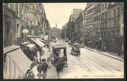 CPA Paris, Faubourg Saint-Antoine - Unclassified
