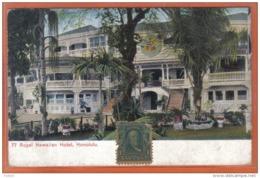 Carte Postale Etats-Unis Hawaii Honolulu  Royal Hawaiian Hotel Beau Timbre   Trés Beau Plan - Honolulu