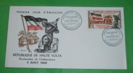 OBERVOLTA - FDC - Brief Letter Lettre 信 Lettera Carta письмо Brev 手紙 จดหมาย Cover Envelope (2 Foto)(34390) - Obervolta (1958-1984)