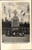 Cp Jelgava Mitau Lettland, Militärfriedhof, Kriegerdenkmal - Lettonie