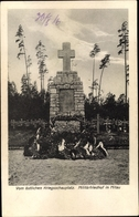 Cp Jelgava Mitau Lettland, Militärfriedhof, Kriegerdenkmal - Lettonia