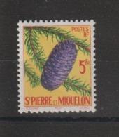 Saint Pierre Et Miquelon 1958 Picéa 359 ** MNH - St.Pierre & Miquelon
