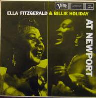 Ella Fitzgerald And Billie Holiday – At Newport Label: Verve Records – 2304 293 - Jazz