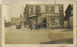 Beauraing :  Vieux Photo 12 X 7 Cm :  Hotel Du Luxembourg  (  Old Car ) - Plaatsen