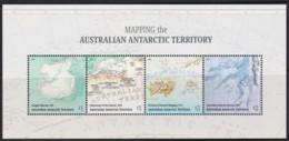 Australian Antarctic 2019 Mapping Antarctica Minisheet MNH - - Unused Stamps