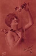 CPA FANTAISIE - FEMME - ROSES - Vrouwen