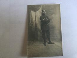 Militaire Guerre .soldat  Carte Photo  Regiment . - 1914-18