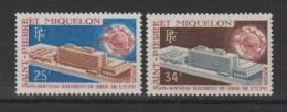 Saint Pierre Et Miquelon 1970 UPU 399-400 2 Val ** MNH - St.Pierre Et Miquelon