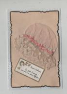 Sainte Catherine Ce Petit Souvenir  Bonnet Rose  En Dentelle - St. Catherine