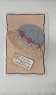 Sainte Catherine Acceptez Ce Petit Souvenir  Bonnet Bleu  En Dentelle - St. Catherine
