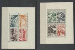 Maroc Blocs Feuillets N° 1 & 2 Neufs Cote 53€ - Marruecos (1891-1956)