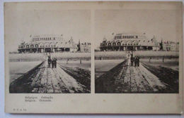 Belgien, Ostende, Stereo Karte Ca. 1900  - Belgien