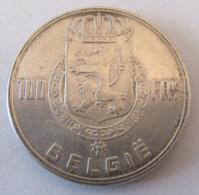 Belgique - Monnaie 100 Francs 1951 En Argent - Légende En Néerlandais - Achat Immédiat - 1951-1993: Boudewijn I