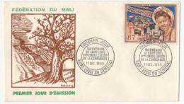 MALI => Enveloppe FDC => Tricentenaire De Saint-Louis - 1959 - Saint-Louis Du Sénégal - Mali (1959-...)