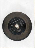 """( Rare ) Matrice De Disque En Acier 45 Tours Face A /  """" Toute Seule 1989""""  Par NORMAN KIWI - Speciale Formaten"""