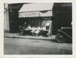 Snapshot Original Le Restaurant Le Touquet Le Diamant Rose 30 Aout 1932 Animée - Lieux