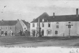 Brugelette. La Place De La Pompe.  Scan - Brugelette