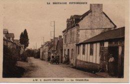 SAINT THURIAU  LA GRANDE RUE - France