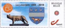 Timbre 150 Ans De La Louvière - Belgium