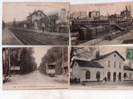 1 Lot De 15 Cartes Trains Gares Tramways 20 Euros - Cartes Postales