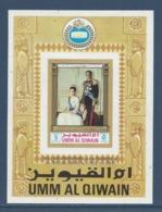 Umm Al Qiwain - Bloc - 2500e Anniversaire Of The Founding Of The Persian Empire - Neuf Avec Charnière - 1971 - Umm Al-Qaiwain