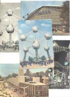 BRUXELLES Exposition 1958 - Expo 58 - Lot De 8 CP  (b260) - Expositions