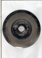 """( Rare ) Matrice De Disque En Acier 45 Tours Face A ( à L'envers ) /  """" CUL CUL CLAN 1988 """"  Par Guesch Patti COMOTION - Formati Speciali"""