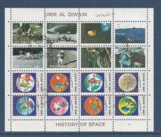 Umm Al Qiwain - Bloc - Histoire De L'espace - Oblitéré - 1972 - Umm Al-Qaiwain