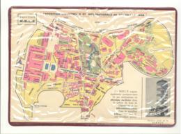 BRUXELLES Exposition 1958 - Expo 58 -  Plan De L' Exposition Sous Pochette Plastique Offert Par MBLE (b260) - Bladwijzers