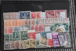 D(A) 015 ++ LOT BELGIUM BELGIQUE HINGED PLAK(REST) SCHARNIER - Postzegels