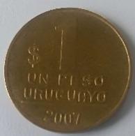 1  PESO  URUGUAYO  2007 - URUGUAY - - Uruguay