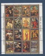Umm Al Qiwain - Bloc - Famous Paintings Life Of Christ - Oblitéré - Umm Al-Qaiwain