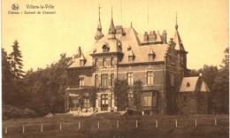 VILLERS LA VILLE  Château  Dumont De Chassart. - Villers-la-Ville