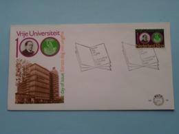 VRIJE UNIVERSITEIT 100 ( NVPH - Nr. 188 ) Anno 1980 ( Zie Foto Voor Detail ) - FDC