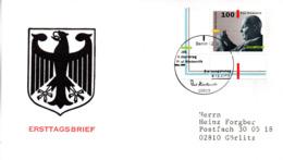 """BRD Schmuck-FDC """"100. Geburtstag Von Paul Hindemith"""", Mi.1827 ESSt 9.11.1995 BERLIN 12 - FDC: Covers"""