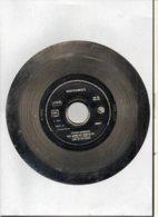 """( Rare ) Matrice De Disque En Acier 45 Tours Face A ( à L'envers ) / """"LET BE MUST THE QUEEN 1988 """" Guesch Patti COMOTION - Formati Speciali"""