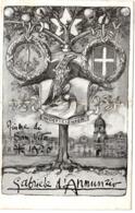 Cartolina Pro Poveri Di Fiume -associazione Samaritana Croce Bianca- Pieghe- 2 Bolli Rovinati Al Retro ( 222) - 8. WW I Occupation