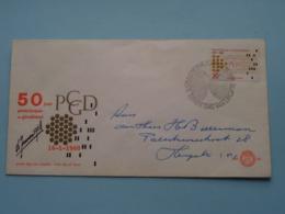 50 Jaar PCGD Postcheque- En Girodienst 1918-1968 ( NVPH - Nr. 88 ) Anno 1968 ( Zie Foto Voor Detail ) - FDC