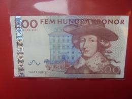 SUEDE 500 KRONOR 2001-2009 PEU CIRCULER - Schweden