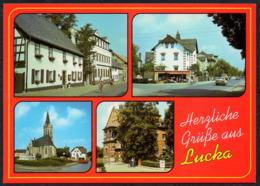 C8327 - TOP Lucka Rathaus Post - Bild Und Heimat Reichenbach - Altenburg