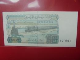 ALGERIE 10 DINARS 1983 PEU CIRCULER/NEUF - Argelia