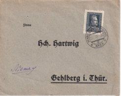POLOGNE 1930 LETTRE DE VARSOVIE - Lettres & Documents