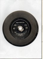 """( Rare ) Matrice De Disque En Acier 45 Tours Face A  / """" FAIT MOI D'LA TCHATCHE 1989 Instrumental  """" Marie Pierre Lacq - Formati Speciali"""