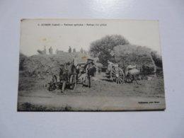 CPA 45 LOIRET - OUSSON : Travaux Agricoles - Battage Des Grains - France