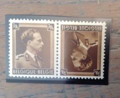 PDG. Cl1. P12.2. Fraîcheur Postale. Sans Charnière. COB. TB 20 - Tete Beche